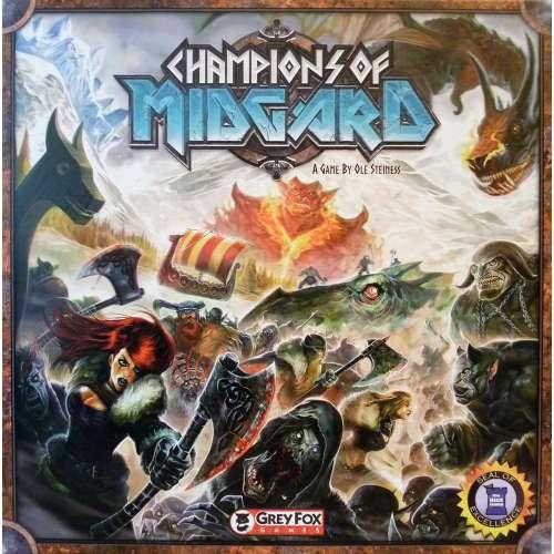 Champions of Midgard - настолна игра