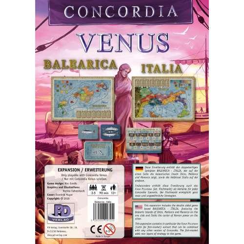 Concordia Venus: Balearica / Italia - разширение за настолна игра
