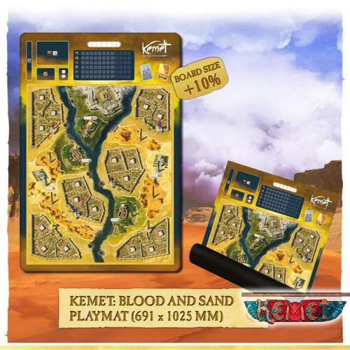 Kemet: Blood and Sand – Playmat