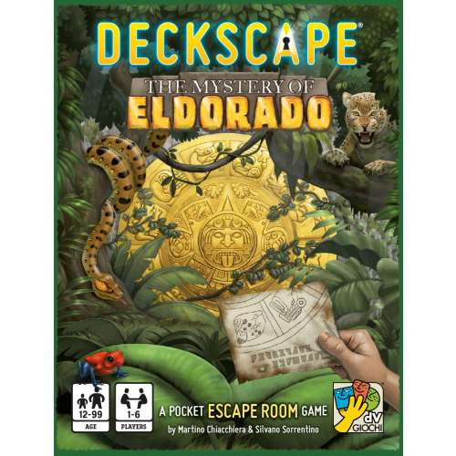 Deckscape: The Mystery of Eldorado - настолна игра
