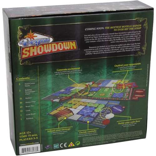 Vegas Showdown - настолна игра