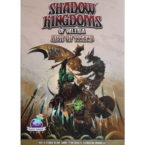 Shadow Kingdoms of Valeria: Rise of Titans - разширение за настолна игра