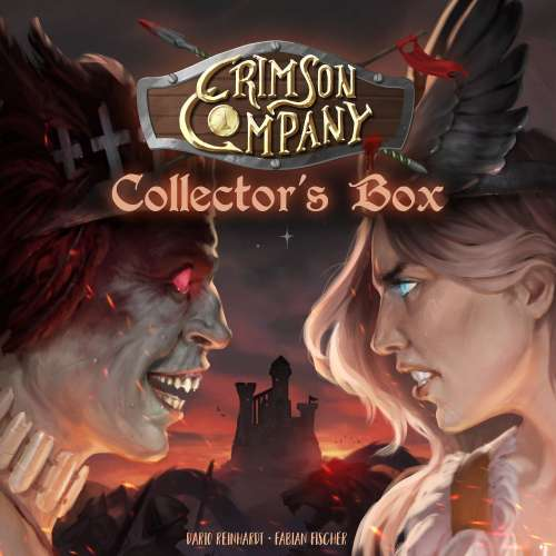 Crimson Company: Collector's Box - настолна игра