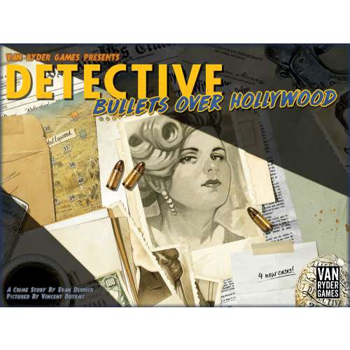 Detective: City of Angels – Bullets over Hollywood - разширение за настолна игра