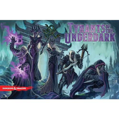 Dungeons & Dragons: Tyrants of the Underdark - настолна игра