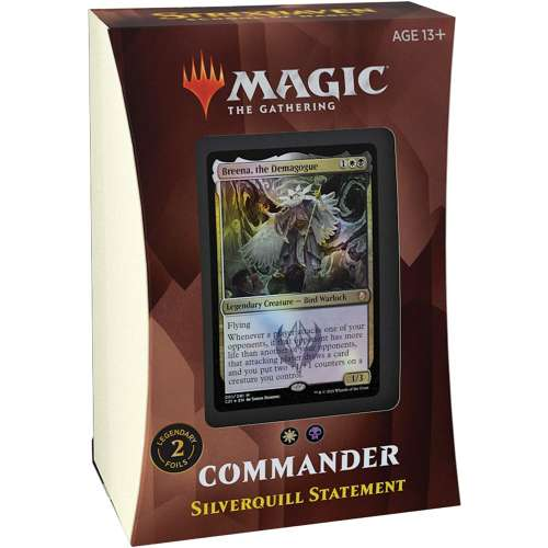 Magic: The Gathering - Strixhaven Commander Deck - Silverquill Statement