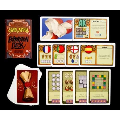 Santa Maria: Exploration Deck - разширение за настолна игра