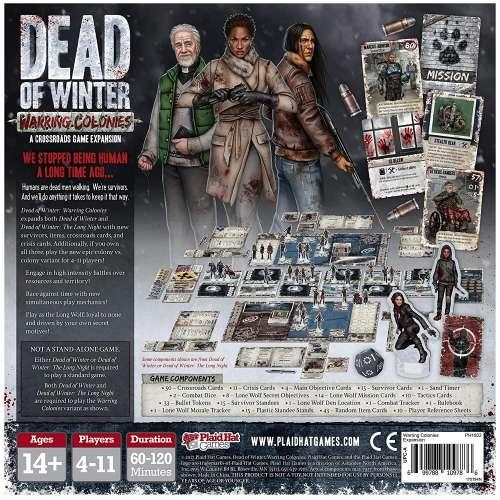 Dead of Winter: Warring Colonies - разширение за настолна игра