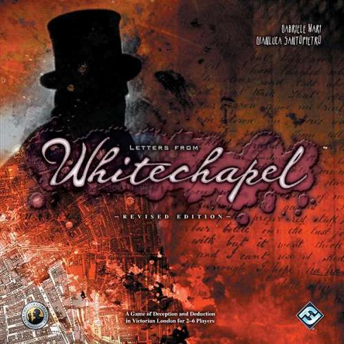 Letters from Whitechapel - настолна игра