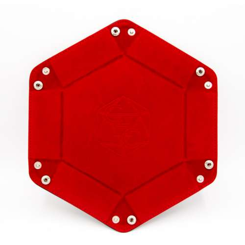 Critical Hit Collectibles Hexagon Dice Tray - Red