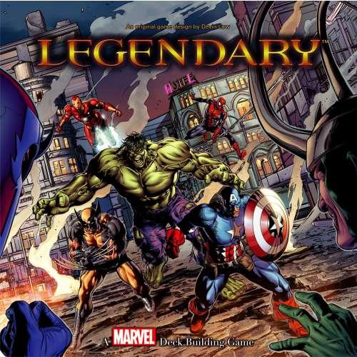 Legendary: A Marvel Deck Building Game - настолна игра