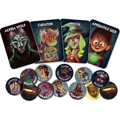 One Night Ultimate Werewolf Daybreak - настолна игра