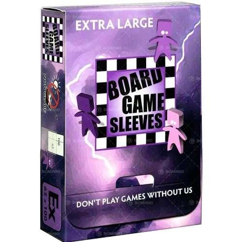 Arcane Tinmen Board Games Sleeves (Clear, Non-Glare) - 65 x 100 mm