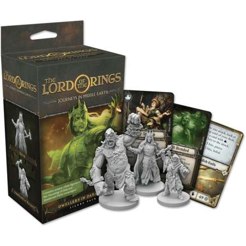 The Lord of the Rings: Journeys in Middle-Earth – Dwellers in Darkness Figure Pack - разширение за настолна игра