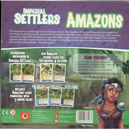 Imperial Settlers: Amazons - разширение за настолна игра