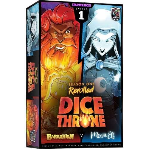 Dice Throne: Season One ReRolled – Barbarian v. Moon Elf - настолна игра
