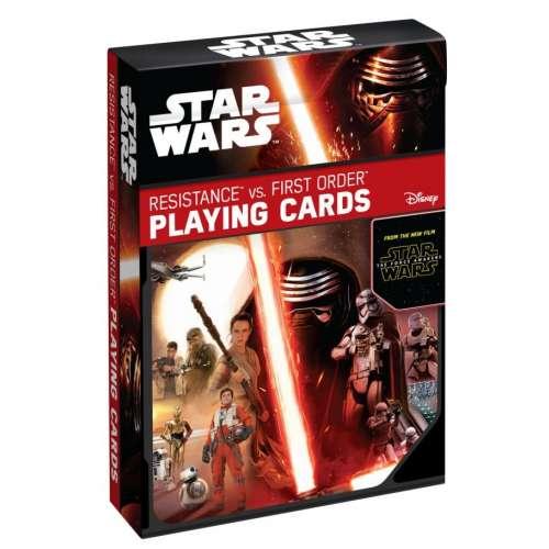 Тесте карти за игра Star Wars Resistance vs. First Order