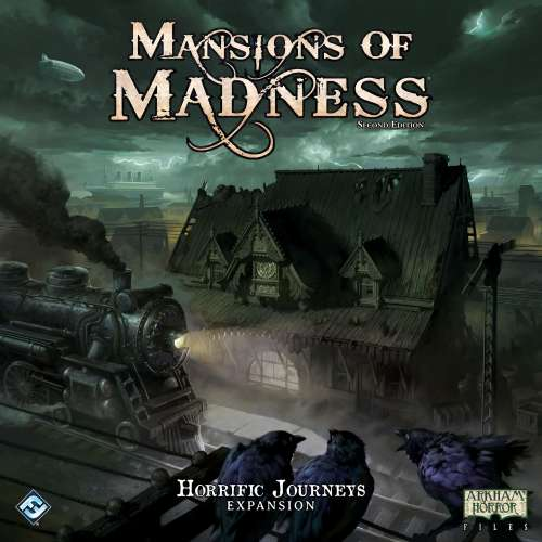 Mansions of Madness: Second Edition – Horrific Journeys - разширение за настолна игра