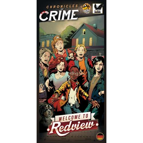 Chronicles of Crime: Welcome to Redview - разширение за настолна игра