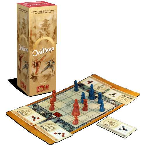 Onitama - настолна игра