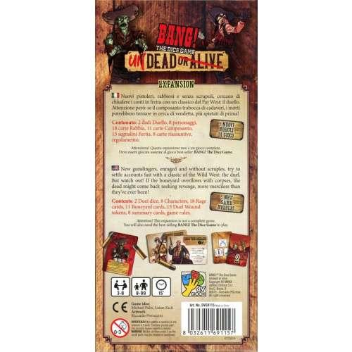 BANG! The Dice Game: Undead or Alive - разширение за настолна игра