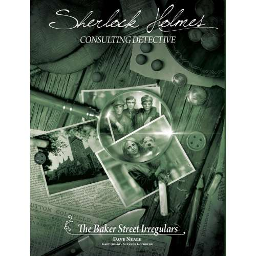 Sherlock Holmes Consulting Detective: The Baker Street Irregulars - настолна игра
