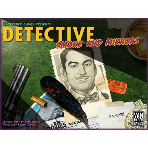 Detective: City of Angels – Smoke and Mirrors - разширение за настолна игра