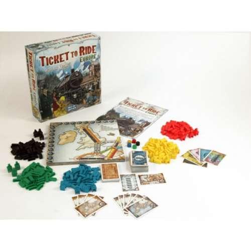Ticket to Ride: Европа - настолна игра