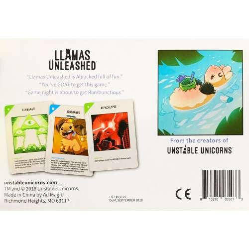 Llamas Unleashed - настолна игра