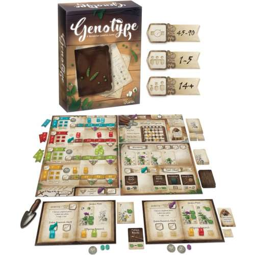 Genotype: A Mendelian Genetics Game - настолна игра