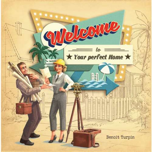Welcome To... - настолна игра