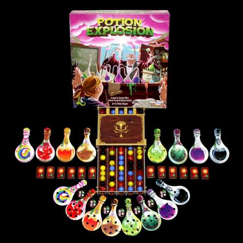 Potion Explosion (Second Edition with plastic dispencer) - настолна игра