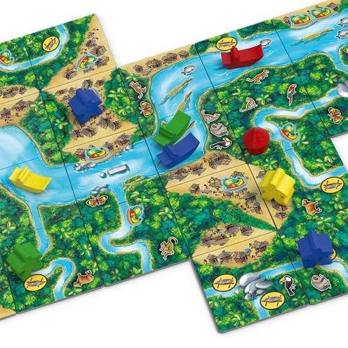 Каркасон: Амазонка (Carcassonne: Amazonas) - настолна игра