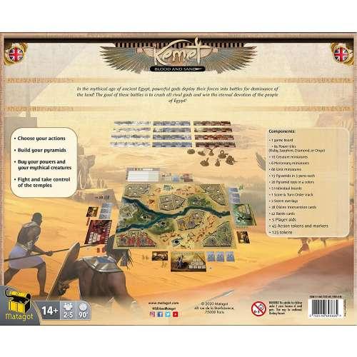 Kemet: Blood and Sand - настолна игра