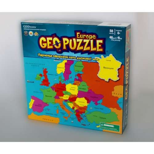 Geo Puzzle: Европа - пъзел