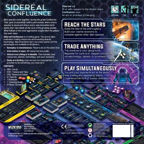 Sidereal Confluence: Remastered Edition - настолна игра