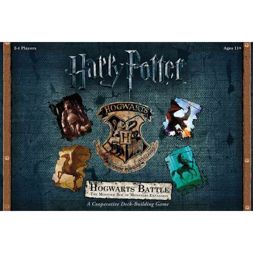 Harry Potter: Hogwarts Battle – The Monster Box of Monsters - разширение за настолна игра