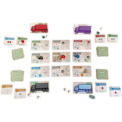 Mint Delivery - настолна игра