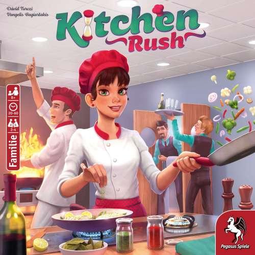 Kitchen Rush (Revised Edition) - настолна игра