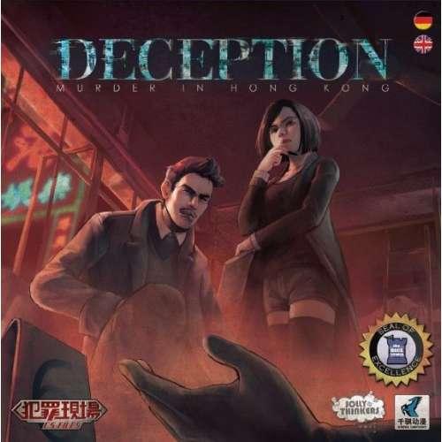 Deception: Murder in Hong Kong - настолна игра