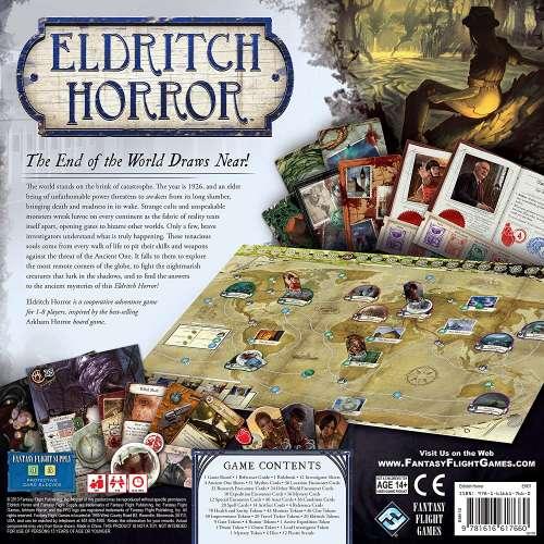 Eldritch Horror - настолна игра