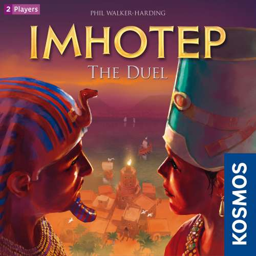 Imhotep: The Duel - настолна игра