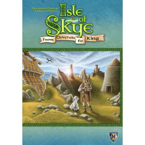 Isle of Skye: From Chieftain to King + Journeyman Expansion + Druids Expansion BUNDLE