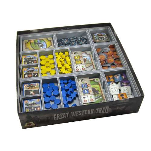 Great Western Trail - Folded Space Organiser