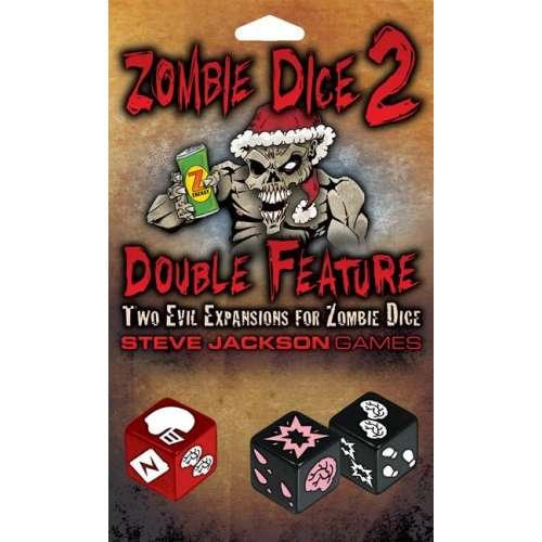 Zombie Dice 2: Double Feature - разширение за настолна игра