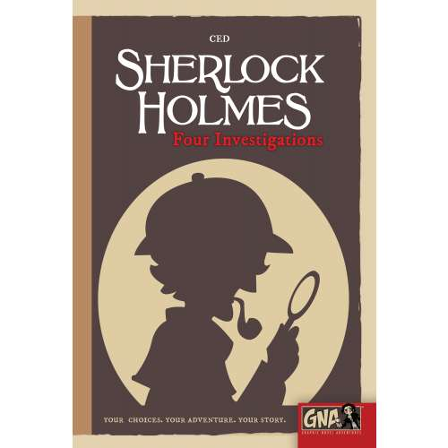 Sherlock Holmes: Four Investigations - книга-игра