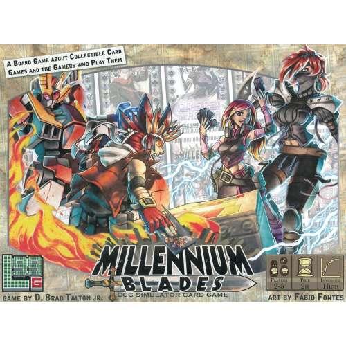 Millennium Blades - настолна игра