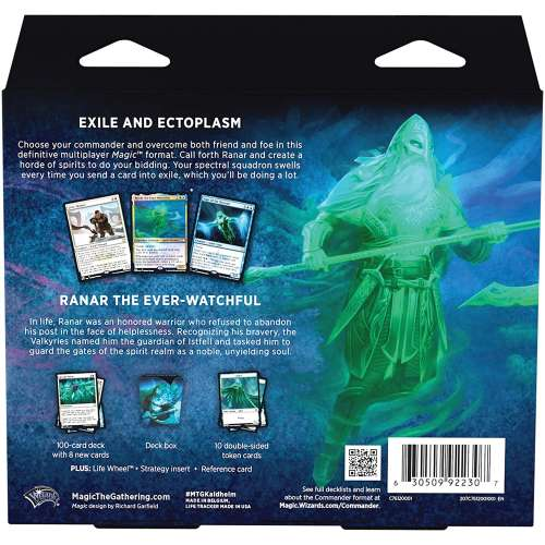 Magic: The Gathering - Kaldheim Commander Deck - Phantom Premonition