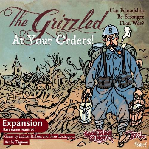 The Grizzled: At Your Orders! - разширение за настолна игра