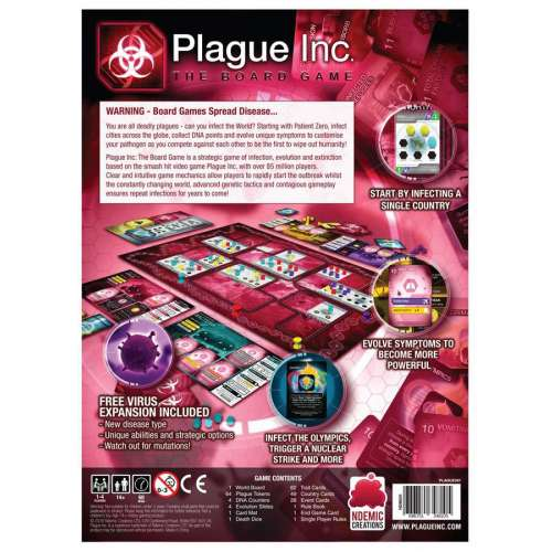 Plague Inc.: The Board Game - настолна игра